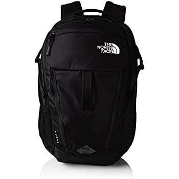 The North Face Surge Men's Outdoor Backpack available in Black/TNF Black -  One Size