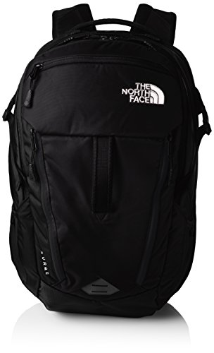 The North Face Surge - Mochila unisex , color negro, única