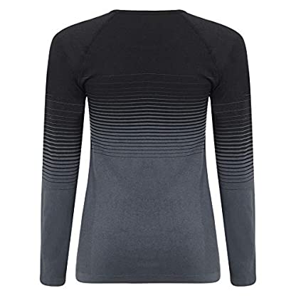 Dare 2b Women's In the Zone Perfomance Fast Wicking and Quick Drying Anti-bacterial Odour Controlling Base Layer Set With Seamless Technology and Ergonomic Body Map Fit 2