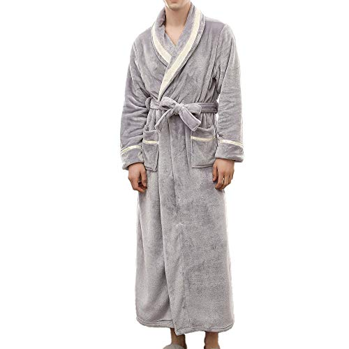 POLP Albornoz Hombre Mujer Parejas Unisex Casa Albornoz Mujer Ducha Bata de Baño Ropa de baño Pijamas...