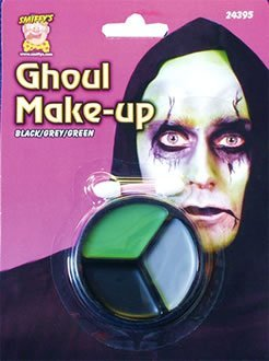 Ghoul Make Up - 3 Colours - Adult (Schminken/Malerei Gesicht) (Ghoul Kinder Kostüm)