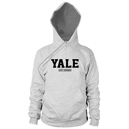 Yale Just Kiddung - Herren Hooded Sweater, Größe: M, Farbe: grau meliert