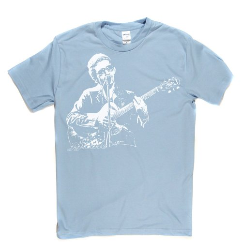 JJ Cale J.J American Singer Tulsa Sound Blues Country Jazz Tee T-shirt Himmelblau