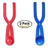 Winter Schneeball Maker Spielzeug, edealing Perfect Outdoor Play Schnee Spielzeug für Kinder Red & Blue - 2 Pack