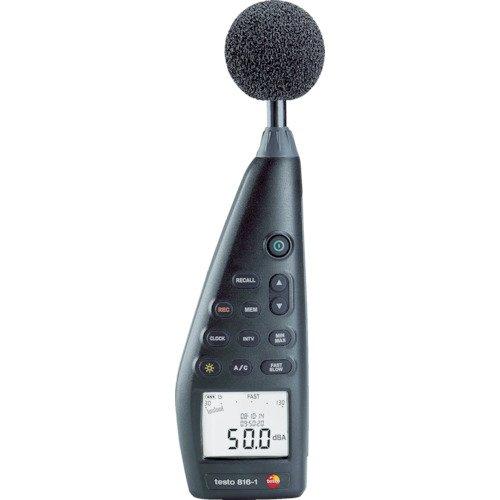 Testo Schallpegel-Messgerät testo 816-1 - normkonform nach neuer Richtlinie IEC 61672-1, Klasse 2, 0563 8170