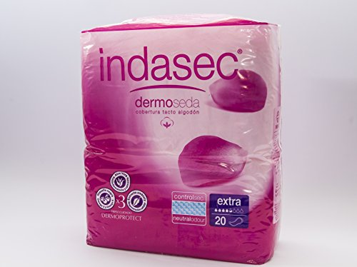 INDAS INDASEC Compresa Incontinencia Extra 20 unidades