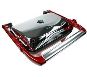 Liventa Bkr 01501 Leu Machine à Panini Presse à Sandwich Inox 1400 W