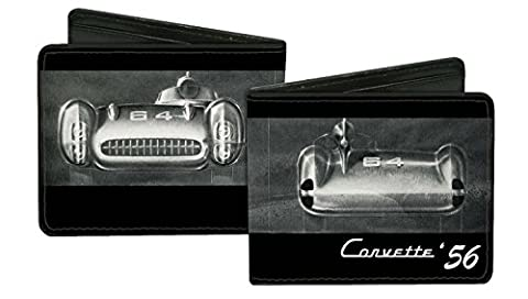 Chevrolet Automobile Company Retro 1956 Corvette Bi-Fold Wallet