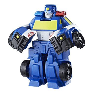 4-autos Transformers (Playskool Heroes: Transformers – Rescue Bots – Chase The Police - Bot)