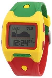 Nixon A5301114-00 - Reloj digital de cuarzo para hombre con correa de plástico, color multicolor de Nixon
