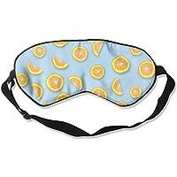 Cute Orange Seamless Art Sleep Eyes Masks - Comfortable Sleeping Mask Eye Cover For Travelling Night Noon Nap... preisvergleich bei billige-tabletten.eu