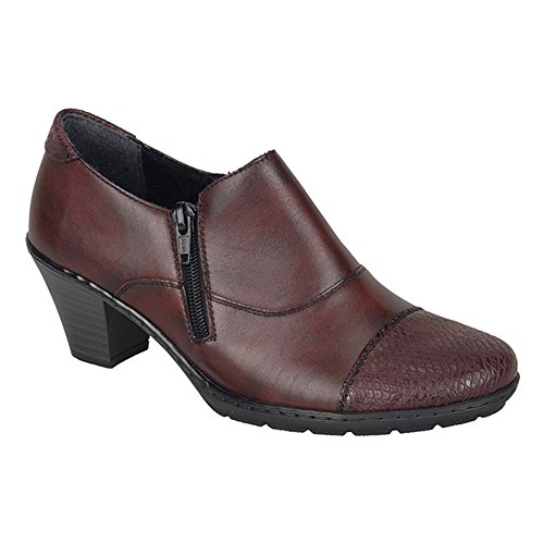 Rieker Tease Womens High Cut Court Shoes 7.5 / 41 Bordo