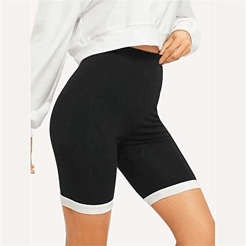 YUNMENG Frauen elastizität Sport Yoga Shorts Hosen schnell trocknend Atem Radfahren Laufen hohe Taille Shorts Leggings solide Gym Fitness