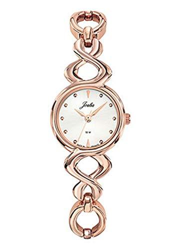 Joalia H631M990 - Orologio da donna con cinturino dorato e quadrante in argento