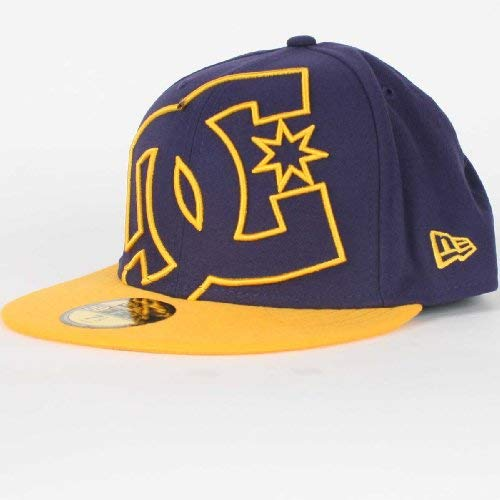"""Dc Shoes Casquette Coverage Ii New Era Heliotrope Yellow Taille 7""""1/4"""