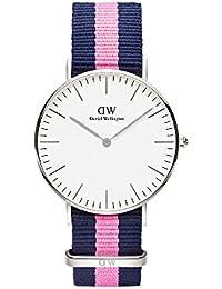 Daniel Wellington Damen-Armbanduhr Winchester Analog Quarz Nylon DW00100049
