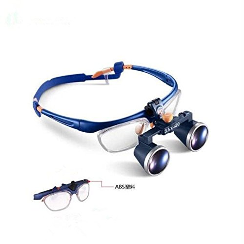 58f26ee511 Zgood dentaire binoculaire Galileo Medical Cadre Lunettes Loupe 3,5 x 420  mm Fd-