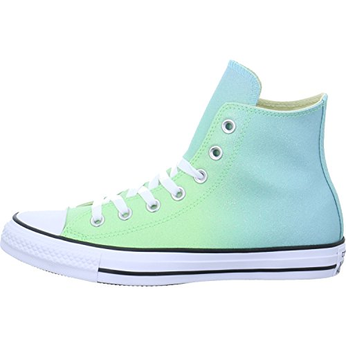 Converse Chuck Taylor All Star Ombre Metallic Hi Illusion Green Synthetic Trainers Illusion Green