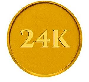 P.C. Chandra Jewellers 24k (995) 10 gm Yellow Gold Coin