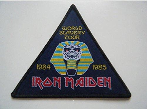 Patch Iron Maiden Rock Band parche termoadhesivo bordado