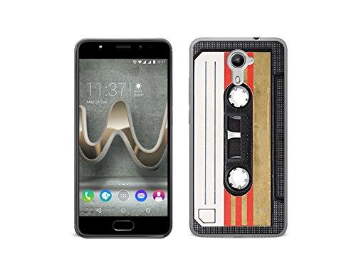 etuo Handyhülle für Wiko Ufeel Prime - Hülle Fantastic Case - Kassete - Handyhülle Schutzhülle Etui Case Cover Tasche für Handy