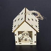 Dooret SUI Bao Árbol de Navidad con Luces Cabina Colgante Decoraciones de Navidad Creativo Colgante de Navidad al por Mayor