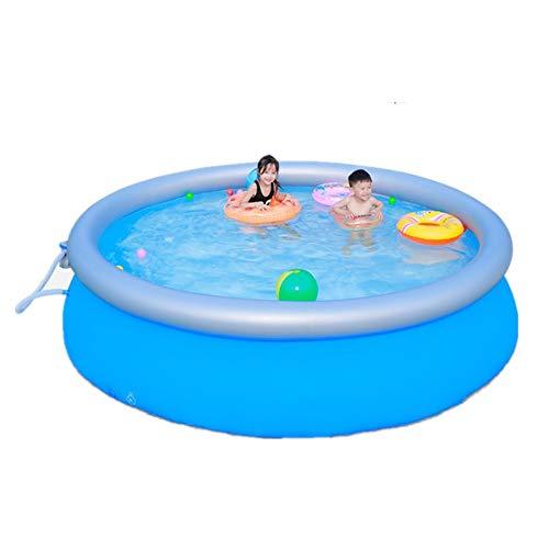 lucky coco Whirlpool Swimmingpool Aufblasbar Pool Outdoor Haushaltsbad Aufblasbare Badewanne, Kinder Verdicken Übergroße Faltbare Familie Erwachsene - Badewanne Bettwäsche-sets