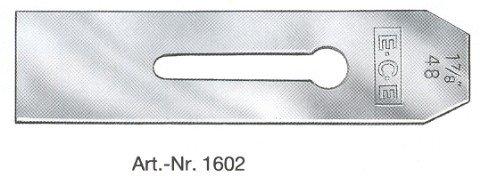 E.C.E. Loch- & Schlichthobeleisen ohne Klappe 48mm