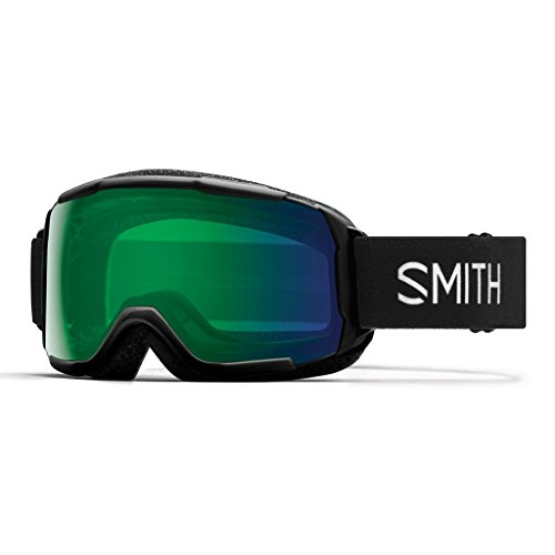 Smith Kinder Grom Skibrille, Black, S