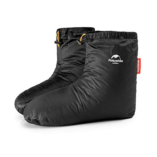 Naturehike Wasserdichte Gänse Daunen Socken und Winter Thermal handschuh im Freien Mann Frauen für Das Skifahren Snowboard Radfahren(Daunen-Socke,S) - Herren-daunen Socken