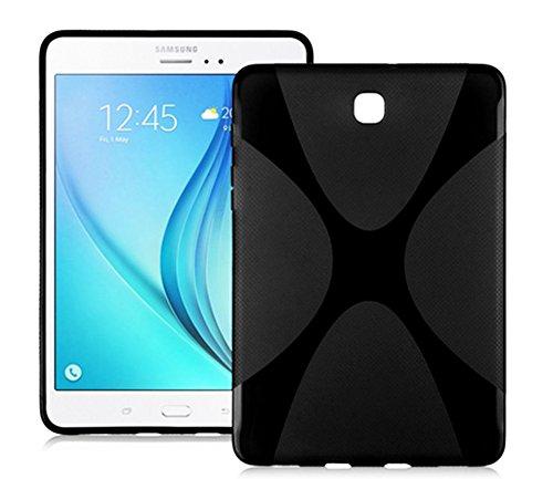 Borse per Samsung Galaxy Tab S2 8.0 SM-T710 T711 T713 T715 8.0 Pollice Smart Slim Case Book Cover Stand Flip S 2 (Nero) NUOVO