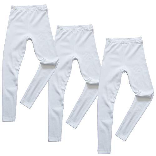 HERMKO 2720 Kit de 3 leggings para chicos y chicas