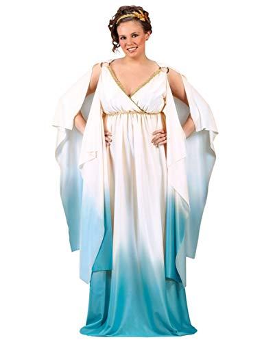 Horror-Shop Griechische Göttin Kostüm Plus Size für Fasching & Karneval (Plus Göttin Size)