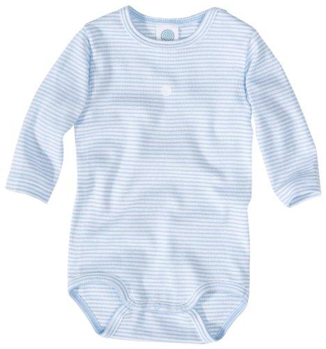 Sanetta Body 1/1 Arm Motiv FR-RI 320723 Baby - Jungen Babybekleidung/ Unterwäsche/ Bodys, Gr. 104, Blau (508 )