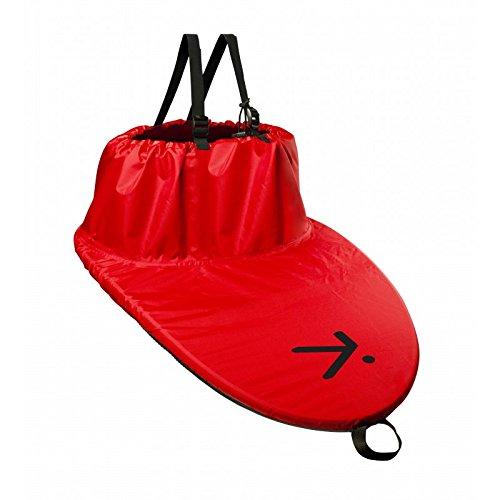 Hiko Kajak Spritzdecke Basic Fitflex Nylon Spritzschutz mit Größenauswahl NEU, Größe:CL80 (75-85 cm);Farbe:Rot