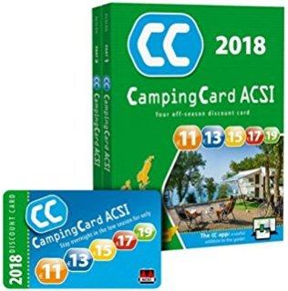 CampingCard ACSI 2018 - français: set 2 delen