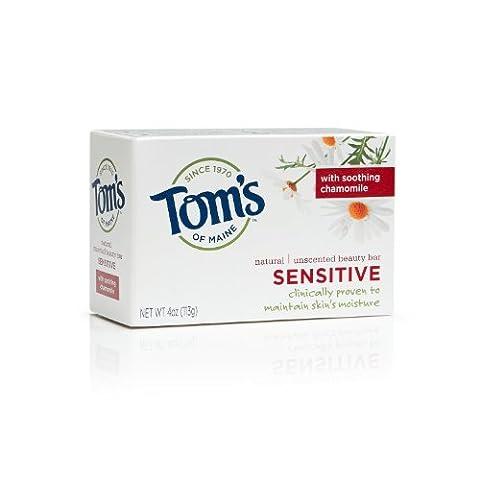 Tom's of Maine Moisturizing Bar Sensitive, 4-Ounces Bars