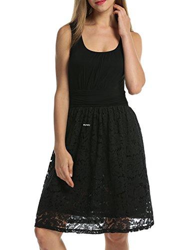 MEXI - Robe - Femme Noir