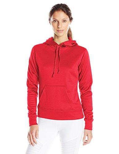 Soffe Tech Fleece-Kapuze für Damen - Rot - X-Groß Soffe Fleece