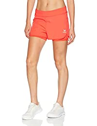 ERIMA Women's Masters Coral 2 in 1 Short, Womens, Masters 2 in 1 Short - koralle