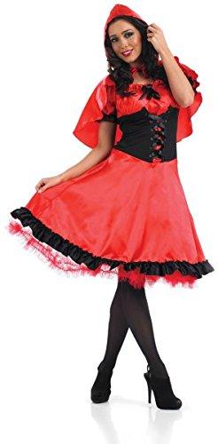 Red Riding Hood (Longer Dress) - Adult (Hood Riding Kostüme Red Frauen)