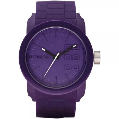 Diesel Franchise Round Watch – Purple