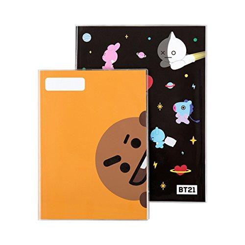 [BT21] Cuaderno escolar estudiante M+L Set/SHOOKY 112 + 128 hojas