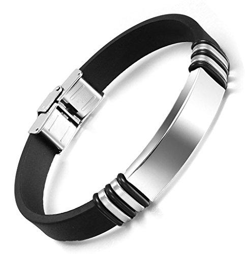 impermeable-noir-bracelet-reglable-longueur-charme-style-aooaz-acier-inoxydable-masculine
