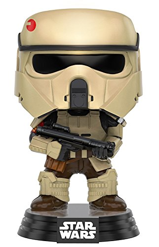 Figurine Pop ! Star Wars : Rogue One 145 - Bobble-Head Scarif Stormtrooper