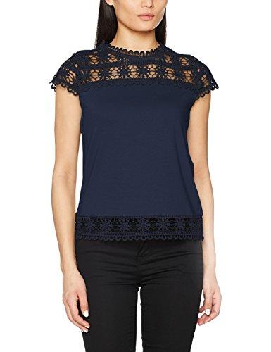 Naf Naf Damen T-Shirt Bleu (Bleu Marine)