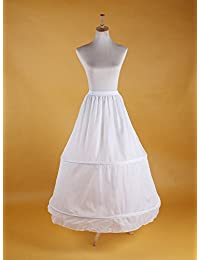 PJ enagua de la boda accesorios de la boda Enaguas Falda paseo vestido de novia de crinolina enagua prom deslizamiento 2-aro de novia