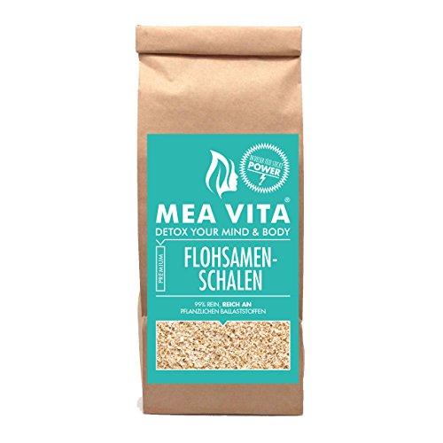 MeaVita Flohsamenschalen, Premium Qualität, 99% rein (1000g)