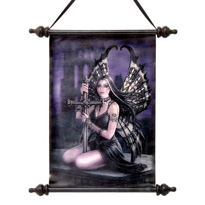 Design Toscano CL75139 Lost Love Gothic Fairy Canvas Wall Scroll Tapestry