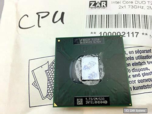 Original Intel Core Duo T2250 CPU, 2 x 1.73GHz, 2MB, 533 FSB für Notebooks Neuw. 2 Mb Laptop-cpu